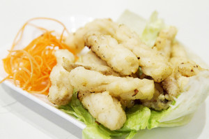 Salt and Pepper Squid from Cha Chan Tang. Photo by Robyn Lee.