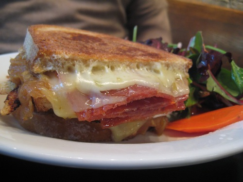 The Gruyère and Salami Sandwich