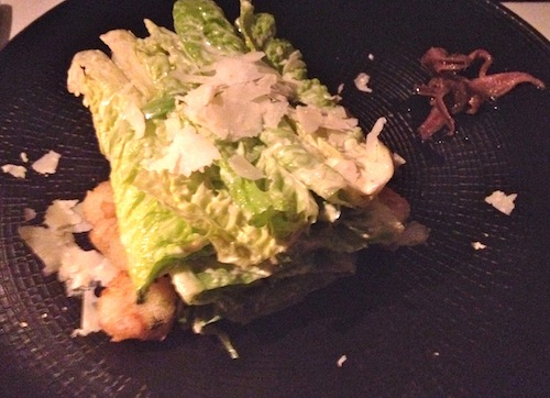 Wasabi Caesar salad at Geronimo. All photos by Juliet White
