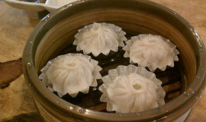Xiao Long Bao at Koi Palace Restaurant. Photo by pearl lu